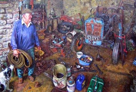 Image of Ken Tucker in his workshop