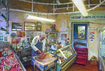Image of the inside of Mendip Farm Butchers