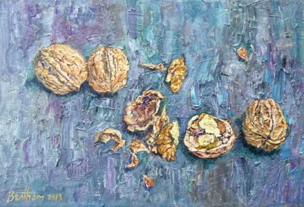Image of Still life with walnuts