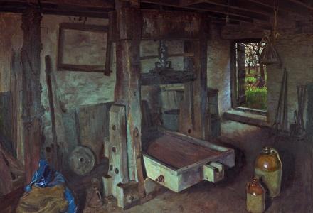 Image of a cider press