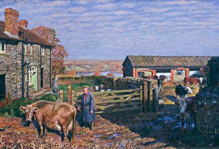 Image of a farm yard