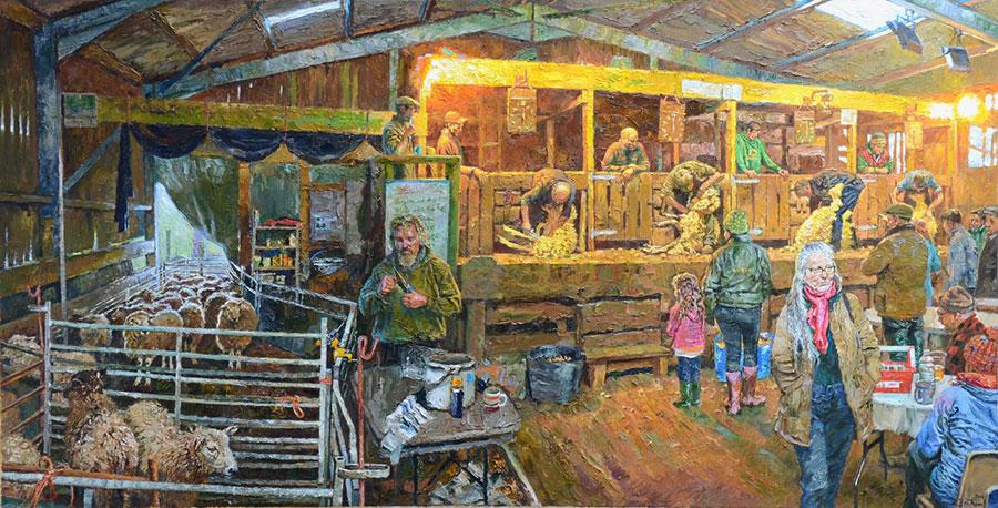 Blade Shearing Tournament, Fernhill Farm